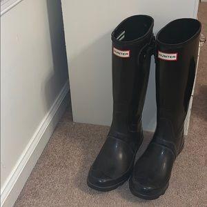 d07f79b5c1a Women s Hunter Boots Wide Calf Boots on Poshmark